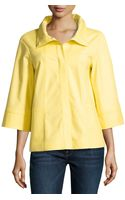 Lafayette 148 New York 34-sleeve A-line Jacket - Lyst