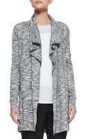 Theory Trincy C Space-dye Open Cardigan - Lyst