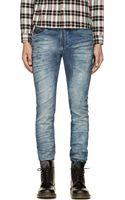 Diesel Blue Thavar Jogg Jeans - Lyst