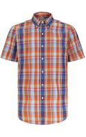 Polo Ralph Lauren Custom Fit Checked Shirt - Lyst