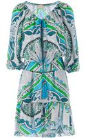 Emilio Pucci Printed Dress - Lyst