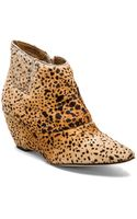 Matisse Nugent Wedge Bootie with Cow Hair - Lyst