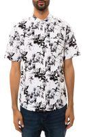 Huf The Floral Buttondown Shirt - Lyst