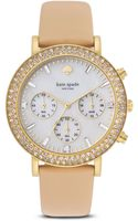 Kate Spade Pave Metro Grand Watch 38mm - Lyst