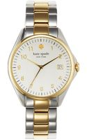 Kate Spade Ladies Two-tone Seaport Grand Watch - Lyst