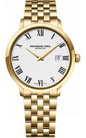 Raymond Weil Mens Toccata Goldtone Watch - Lyst