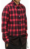 Stussy Flannel Shirt - Lyst