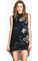 H&M Sleeveless Chiffon Blouse - Lyst