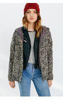 BDG Hooded Sweater Coat - Lyst