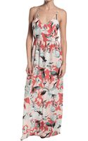Parker Kisa Maxi Printed Dress - Lyst