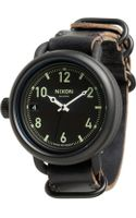 Nixon The October Leather - Lyst