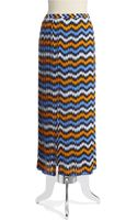 Michael by Michael Kors Pleated Maxi Skirt - Lyst