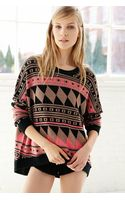 BDG Patterned Intarsia Sweater - Lyst