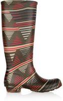 M Missoni Printed Rubber Wellington Boots - Lyst