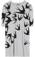 McQ by Alexander McQueen Printed Cotton T-shirt - Lyst