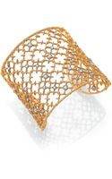 Alexis Bittar Elements Gilded Muse Crystal Studded Spur Cuff Bracelet - Lyst
