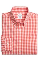 Brooks Brothers Noniron Slim Fit Gingham Sport Shirt - Lyst