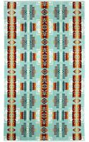 Pendleton, The Portland Collection Chief Joseph Aqua Oversized Jacquard Towel - Lyst