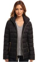 Michael by Michael Kors Packable Zip W Hood - Lyst