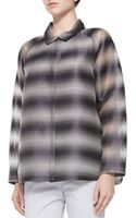 Lafayette 148 New York Zineb Ethereal Striped Topper Jacket - Lyst