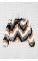 Nasty Gal Color Coating Faux Fur Jacket - Lyst