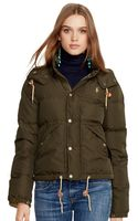 Polo Ralph Lauren Hooded Elmwood Down Jacket - Lyst