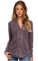 Alternative Everyday Burnout Button Up Shirt - Lyst