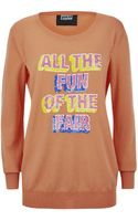 Markus Lupfer All The Fun Of The Fair Sweater - Lyst