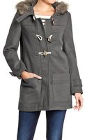 Old Navy Hooded Toggle Coats - Lyst