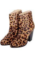 Rag & Bone Leopard Pony Hair Newbury Boot - Lyst
