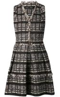 Proenza Schouler Tweed Flared Dress - Lyst