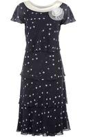 Jacques Vert Layered Chiffon Dress - Lyst