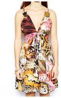 Traffic People Tribal Butterfly Print Tea Dress - Lyst