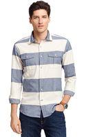 Tommy Hilfiger Colorblock Shirt - Lyst