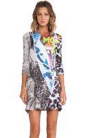 McQ by Alexander McQueen Ruffle Sleeve Dress - Lyst
