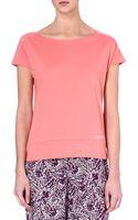 Calvin Klein Cotton-blend T-shirt - Lyst