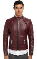Philipp Plein Force Leather Jacket - Lyst