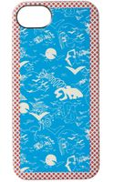 Marc By Marc Jacobs Doodle Print Iphone 5 Case - Lyst