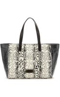 Marc By Marc Jacobs Printed Leather Tote - Lyst