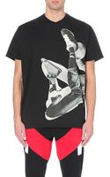 Givenchy Basketball-print Cotton-jersey T-shirt - Lyst