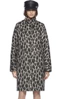 Gucci Animalier Mohair Coat - Lyst
