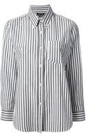 Isabel Marant Eddie Striped Shirt - Lyst