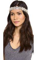 Deepa Gurnani Opulent Crystal Headband - Lyst