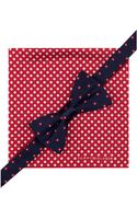 Tommy Hilfiger Flower Bow Tie Dot Pocket Square Set - Lyst