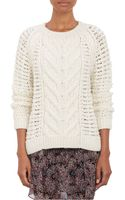 Ulla Johnson Mixed-stitch Rune Sweater - Lyst