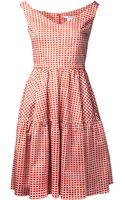 Carven Robe Popeline Dress - Lyst