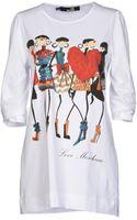 Love Moschino Tshirt - Lyst