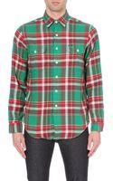 Ralph Lauren Checked Flannel Shirt - Lyst