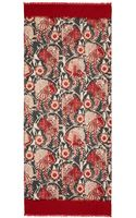 Tory Burch Birds Of Paradise Scarf - Lyst