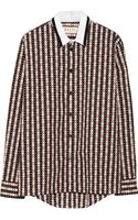 Marni Printed Cotton Shirt - Lyst